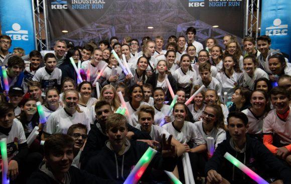 Spectrumcollege laat zich van zijn sportiefste kant zien tijdens de Industrial Night Run